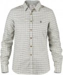 Fjällräven Sörmland Flannel L/S Shirt Frauen Gr. S - Outdoor Bluse - weiß