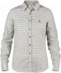 Fjällräven Sörmland Flannel L/S Shirt Frauen Gr. M - Outdoor Bluse - weiß