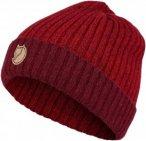 Fjällräven Two-Tone Rib Hat Gr. uni - Mütze - rot|rotbraun