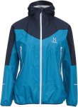 Haglöfs L.I.M Comp Jacket Frauen Gr. L - Regenjacke - blau