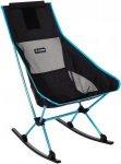 Helinox Chair Two Rocker - Campingstuhl - schwarz|blau - Faltstuhl