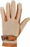 Hestra Deerskin Crochet Unisex Gr. 6,5 - Handschuhe - beige-sand|braun