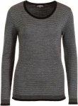 Himalaya Merino sweater Frauen Gr. XL - Wollpullover - schwarz|grau