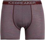 Icebreaker M ANATOMICA BOXERS Männer Gr.S - Funktionsunterwäsche - rotbraun