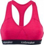 Icebreaker SPRITE RACERBACK BRA Frauen - Sport BH - pink-rosa