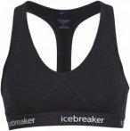 Icebreaker WMNS SPRITE RACERBACK BRA Frauen - Sport BH - schwarz