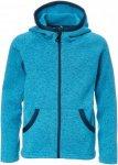 Isbjörn Rib Sweater Hood Kinder Gr. 134/140 - Fleecejacke - blau