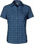 Jack Wolfskin CENTAURA STRETCH VENT SHIRT Frauen Gr. XS - Outdoor Bluse - blau