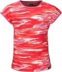 Jack Wolfskin Coastal Wave Kinder Gr. 164 - T-Shirt - rot