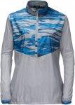 Jack Wolfskin Coastal Wave Smock Frauen Gr. S - Windbreaker - grau|blau