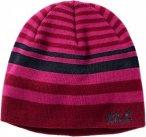 Jack Wolfskin Cross Knit Cap Kinder Gr. S - Mütze - lila|pink-rosa