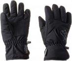 Jack Wolfskin Easy Entry Glove Kinder Gr. 140 - Handschuhe - schwarz