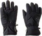 Jack Wolfskin Easy Entry Glove Kinder Gr. 152 - Handschuhe - schwarz
