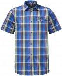 Jack Wolfskin Fairford Shirt Männer Gr. S - Outdoor Hemd - blau