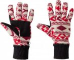 Jack Wolfskin Hazelton Glove Frauen Gr. L - Handschuhe - rot|beige-sand