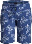 Jack Wolfskin POMONA TROPICAL SHORTS Frauen Gr. 34 - Shorts - blau|weiß