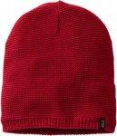 Jack Wolfskin Stormlock Knit Beanie Unisex Gr. uni - Mütze - rot|rotbraun