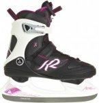 K2 Alexis Ice Pro Frauen - Schlittschuhe - schwarz|weiß|pink-rosa