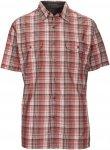 Kühl Response S/S Shirt Männer Gr. S - Outdoor Hemd - rotbraun|grau