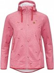 Maloja AmaliaM. Hooded Fleece Jkt Frauen Gr. S - Fleecejacke - pink-rosa
