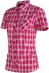 Mammut Alessandria Shirt Frauen Gr. S - Outdoor Bluse - pink-rosa