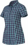 Mammut Kirsi Shirt Frauen Gr. XS - Outdoor Bluse - petrol-türkis|lila
