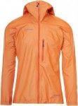 Mammut Nordwand Light HS Hooded Jacket Männer Gr. S - Regenjacke - orange