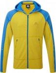 Mountain Equipment Flash Hooded Jacket Männer Gr. XXL - Kapuzenjacke - gelb|bla