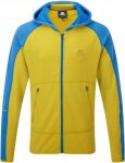 Mountain Equipment Flash Hooded Jacket Männer Gr. S - Kapuzenjacke - gelb|blau