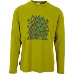 Mountain Equipment Zig Zag L/S Tee Männer Gr. XL - Funktionsshirt - grün