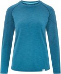 NRS H2Core Silkweight L/S Shirt Frauen - Langarmshirt - blau