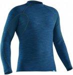 NRS Hydroskin 0.5 M´s L/S Shirt Männer Gr. S - Neoprenbekleidung - blau