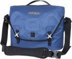 Ortlieb Courier-Bag City - Wasserdichte Tasche - Gr. L - blau / stahlblau