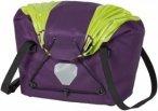 Ortlieb Fahrradkorb - Fahrradkorb - Gr. M - lila / violett hellgrün - Gepäcktr