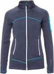 Ortovox Fleece Light Melange Jacket Frauen Gr. L - Fleecejacke - blau
