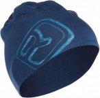 Ortovox Merino Cool Logo Beanie Unisex Gr. uni - Mütze - blau