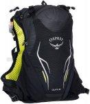Osprey Duro 6 - Trinkrucksack - Gr. S/M - schwarz|grün / electric black - 5 l