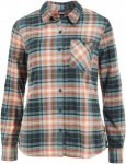 Patagonia Heywood Flannel Shirt Frauen Gr. 12 - Outdoor Bluse - blau|rotbraun