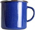 Relags Emaille Tasse - Campinggeschirr - blau