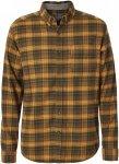 Royal Robbins LIEBACK FLANNEL L/S Männer Gr. S - Outdoor Hemd - orange|oliv-dun