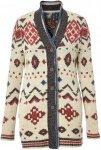 Royal Robbins Mystic Andes Cardigan Frauen Gr. XS - Wolljacke - beige-sand|grau