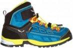 Salewa Alp Player Mid GTX Kinder Gr. 39 - Wanderstiefel - blau|gelb