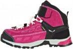 Salewa Alp Player Mid GTX Kinder Gr. 35 - Wanderstiefel - pink-rosa schwarz