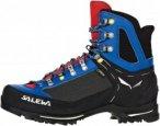 Salewa RAVEN II GTX Männer Gr. 9 - Bergstiefel - blau|rot|schwarz