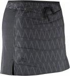 Salomon Drifter Mid Skirt Frauen - Rock - schwarz