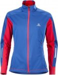 Salomon Equipe Softshell Jacket Frauen Gr. XS - Softshelljacke - blau|rot