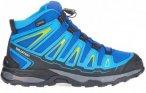 Salomon X-Ultra Mid GTX Kinder Gr. 34 - Hikingstiefel - blau