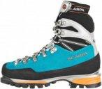 Scarpa Mont Blanc Pro GTX Frauen Gr. 40½ - Bergstiefel - petrol-türkis|grau|sc