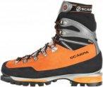 Scarpa Mont Blanc Pro GTX Männer Gr. 44 - Bergstiefel - orange|grau|schwarz