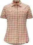 Schöffel BLOUSE WALLA WALLA UV Frauen Gr.34 - Outdoor Bluse - grün|pink-rosa